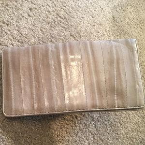 Luxury Leather Eel Skin Wallet